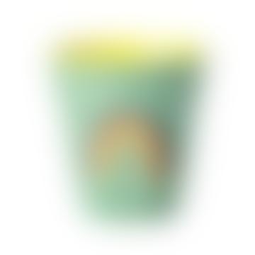 Rainbow Melamine Cup