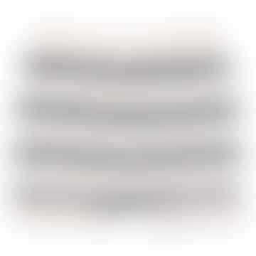 Cream Knit Set And Dark Gray Striped Teo Pants