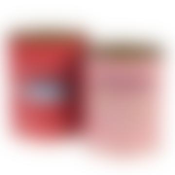 Red Mackerel Fish Storage Tin