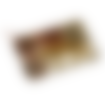 Pochette léopard safran