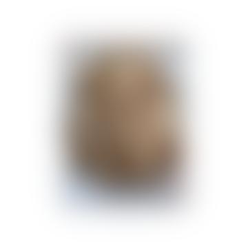 Golden Geometric Lion Wall Head