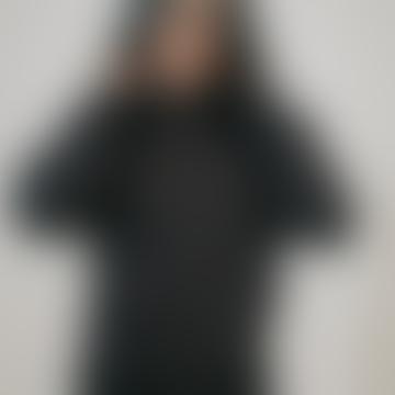 Organic Cotton Hoodie in Black