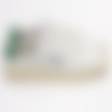Unisex Dallas White Amazon Green Trainers