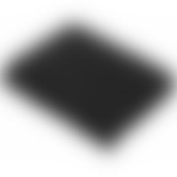 Bronte by Moon Black Luxury Merino Lambswool Throw 140 x 185cm