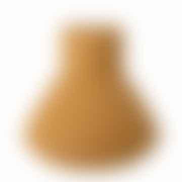 Yellow Metal Vase