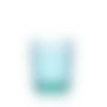 Ichendorf Milano Gap Handblown Glass Tumbler Turquoise