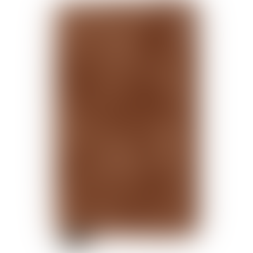 Cognac Rust Cow Leather Vintage Slimwallet