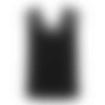 Tammy Lace Vest Top Black