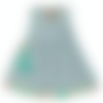 Nora Reversible Dress Dino Stripe