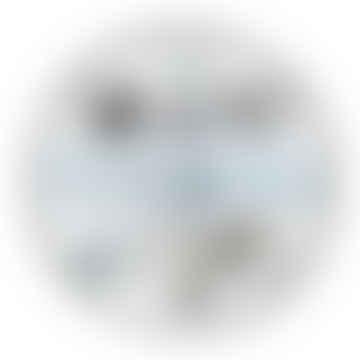 Infinity Wall Float Circular Black Photo Frame - 52cm