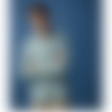 Paul Oyster Green Verdigris Linen Shirt