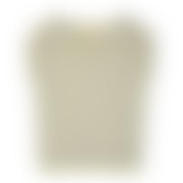 Sessun Sixtolin Stripe T Shirt In Lemon Ice