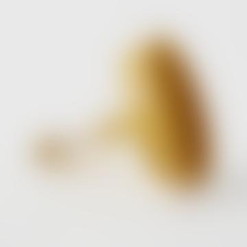 Turnip Platter Clamp Tray Mustard Yellow Size S