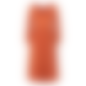 Carrot Robe Rayo Midi Dress