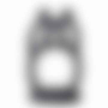 Black Ramina Double Candle Holder