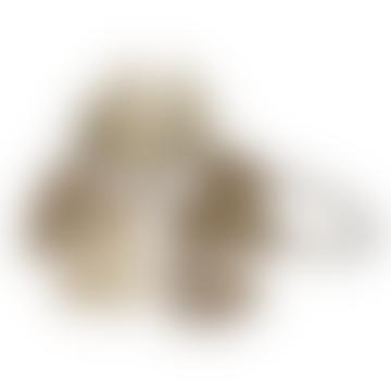 Brass Gingko Leaf Napkin Ring
