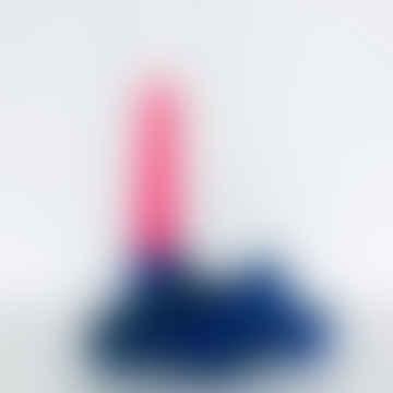 'Knot' Cobalt Candle Holder Sculpture