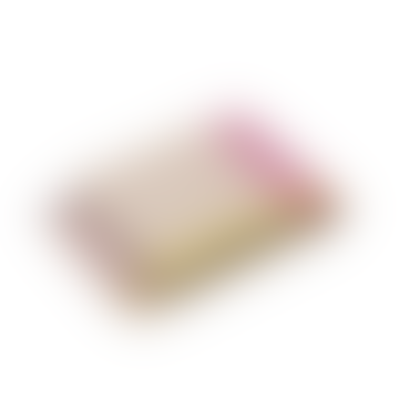Colour Block Blanket Pink Beige