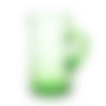 Le verre Beldi Tall Recycled Moroccan Beldi Jug, Green