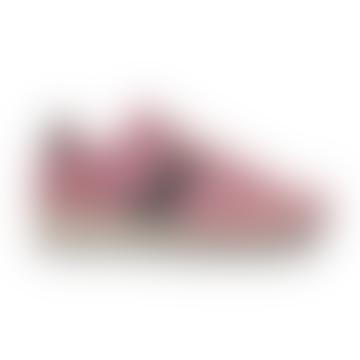 Jazz Vintage Shoes Suede Logo Pink/Grey Women
