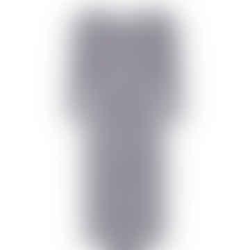 Nudania-Kleid in dunklem Saphir
