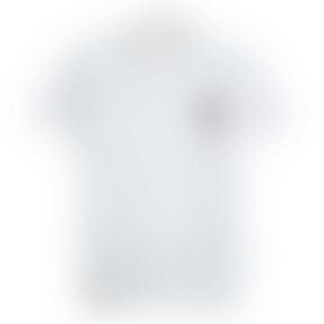 Stachio Short Sleeve Shirt Embroidered Peace Logo