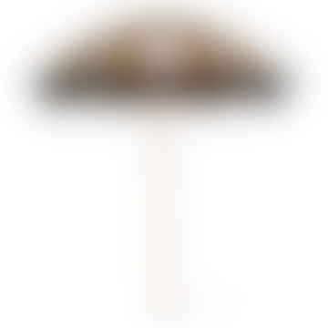 Nude & Mustard Beach Umbrella