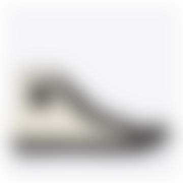 1892 National Treasure Hi Top Sneakers Coal Ecru Black Instock Shortly
