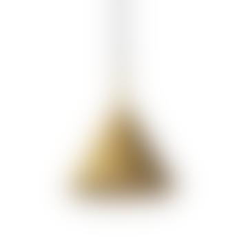 Metal Triangular Hanging Lamp