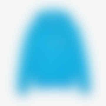 Lacoste Unisex Lacoste x Polaroid Cotton Fleece Sweatshirt  Blue