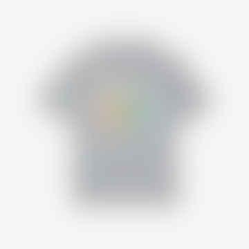 Lacoste Unisex Lacoste Live x Polaroid Loose Fit Cotton T-Shirt  Grey Chine