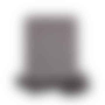 Pom Pom Blanket - Dark Grey L