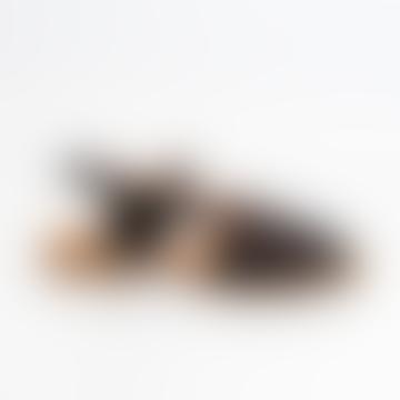 Naguisa Black Mantle Sandal