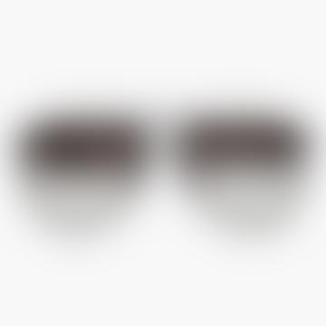 High Fangle aviator Sunglasses - Black