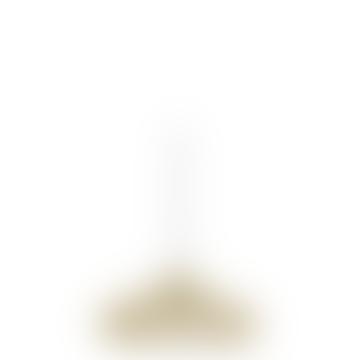 Woven Brass Mesh Pendant