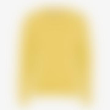Hellgelber baumwolle baumwoll gelb schweiß