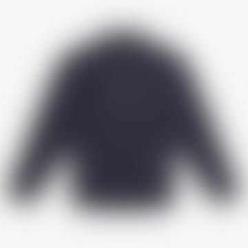 Navy Knit 1 4 Zip Shirt