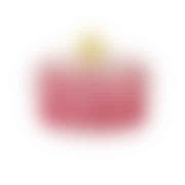 Pink Spiral Jar