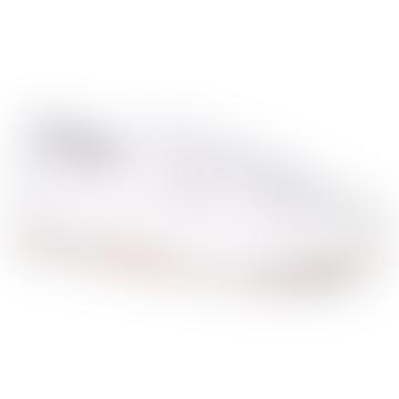 2750 Efglu White Leather Shoes