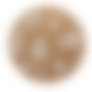 LIGA Cork Placemat Thistles