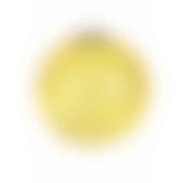 Yellow Spiral Vase
