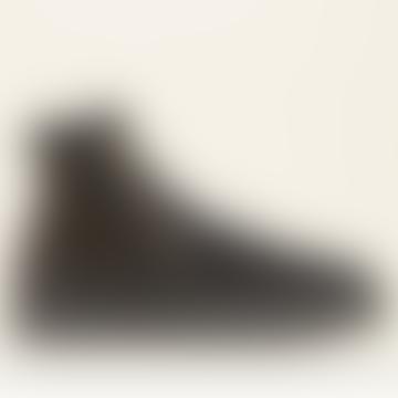 Bottines Setsu Stars en daim noir