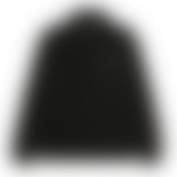 Carhartt Half Zip American Script Sweatshirt Black