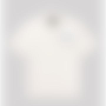 1950 S Dial A Llama Bowling Shirt Cream