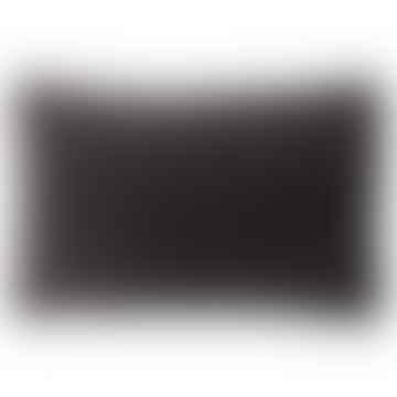 Velvet Dark Grey Cushion 33x50cm