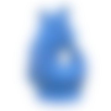 Large Sea Blue Gluggle Jug