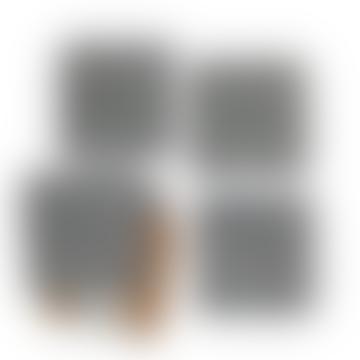 Nina d Homeware Ingria Coasters Square Set Of 6