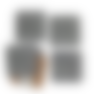 Nina d Homeware Ingria Coasters Square Set Of 4