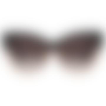 Le Vacanze Black / Gold Sunglasses