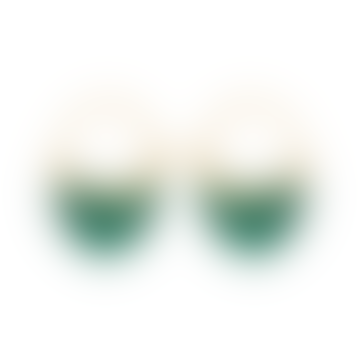 Pernille Corydon Malachite Earrings Gold